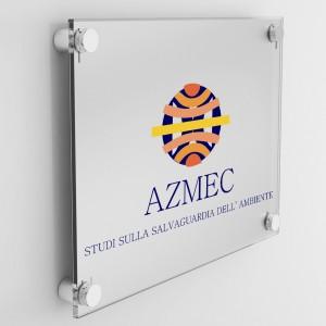 Targa in Plexiglass Stampata colore Silver tipologia Rettangolare o Quadrata