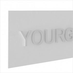 Insegna PVC Rettangolare Personalizzata