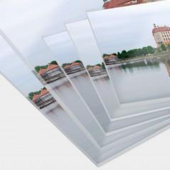 Stampa su Plexiglass Trasparente Dimensioni Personalizzate