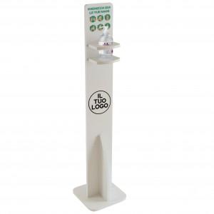 Dispenser / Distributore / Colonnina per igienizzante/gel disinfettante da terra