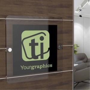 Segnaletica da parete personalizzata - Quadrata