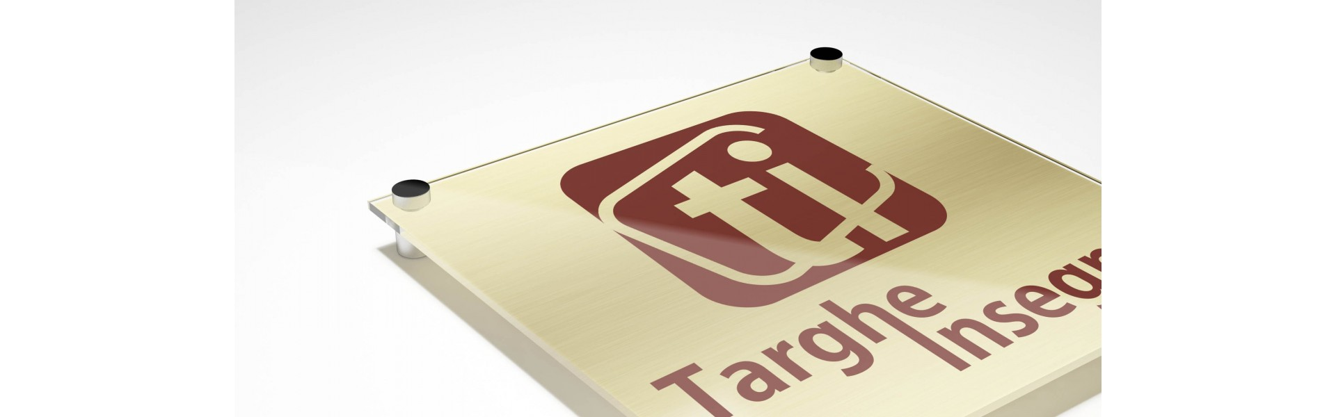 Targhe in Plexiglass Gold